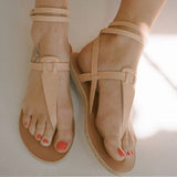 Ancient Greek Sandals Estia Thong Ankle Strap Sandal / Shop Super Street - 2