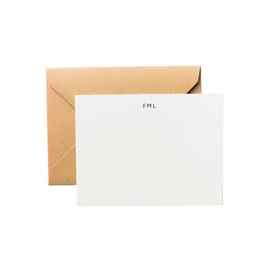 Terrapin Stationers FML A2 Notecard Set / Shop Super Street