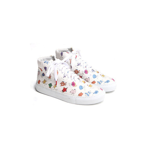 Twins for Peace Twins for Peace x Mr. Men Little Miss Vinci Hightops / Shop Super Street - 1