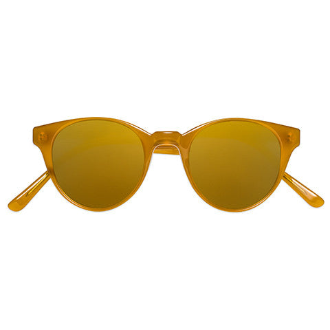Sun Buddies Type 07 Burnt Honey Sunglasses / Shop Super Street - 1