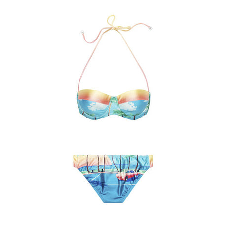 We Are Handsome The Bella Vista Soft Cup Bikini / Shop Super Street - 1