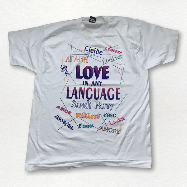 Retro Love In Any Language Tee
