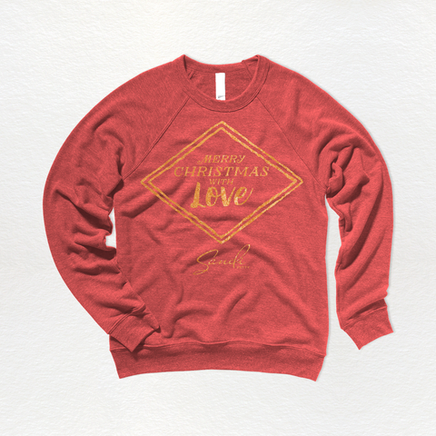 Merry Christmas With Love - Sweatshirt
