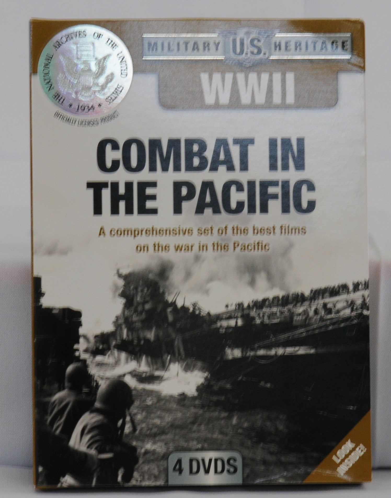 Combat in the Pacific DVD