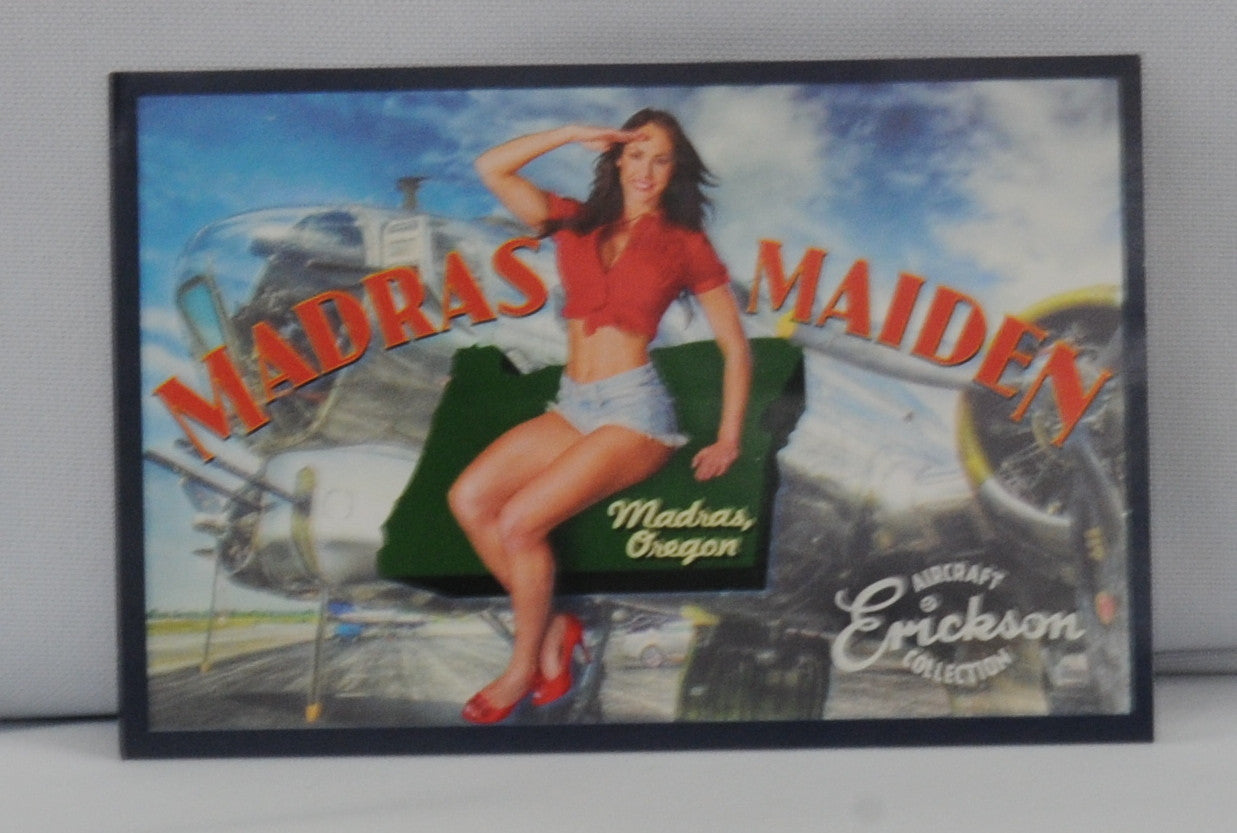 Madras Maiden Sticker