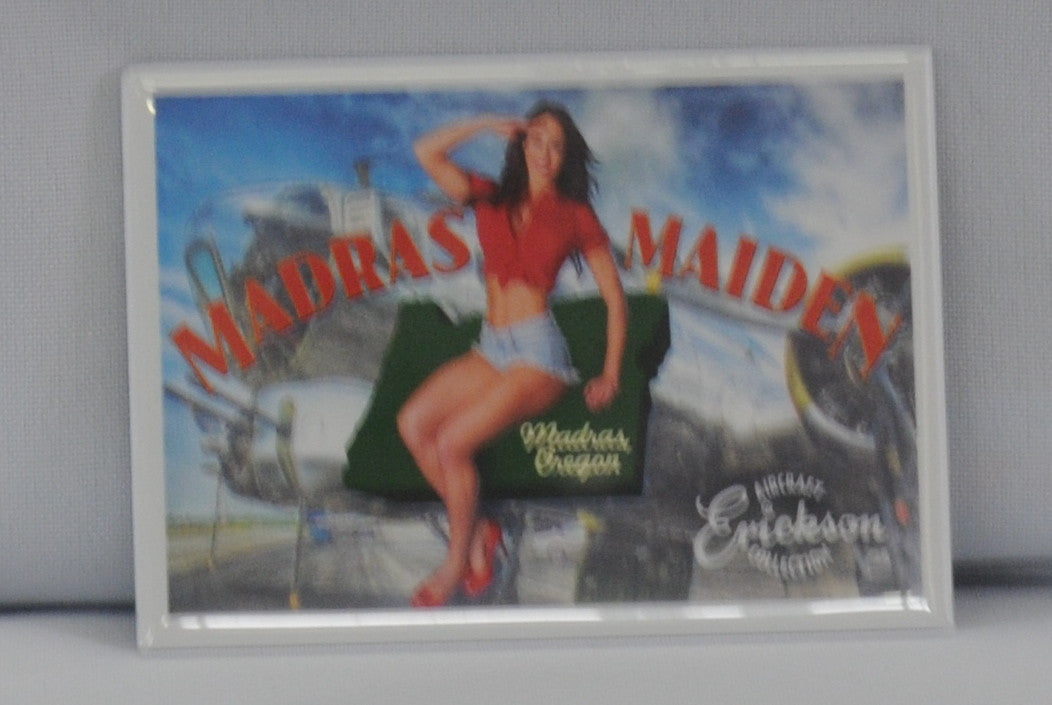 Madras Maiden 9x12 Poster Print