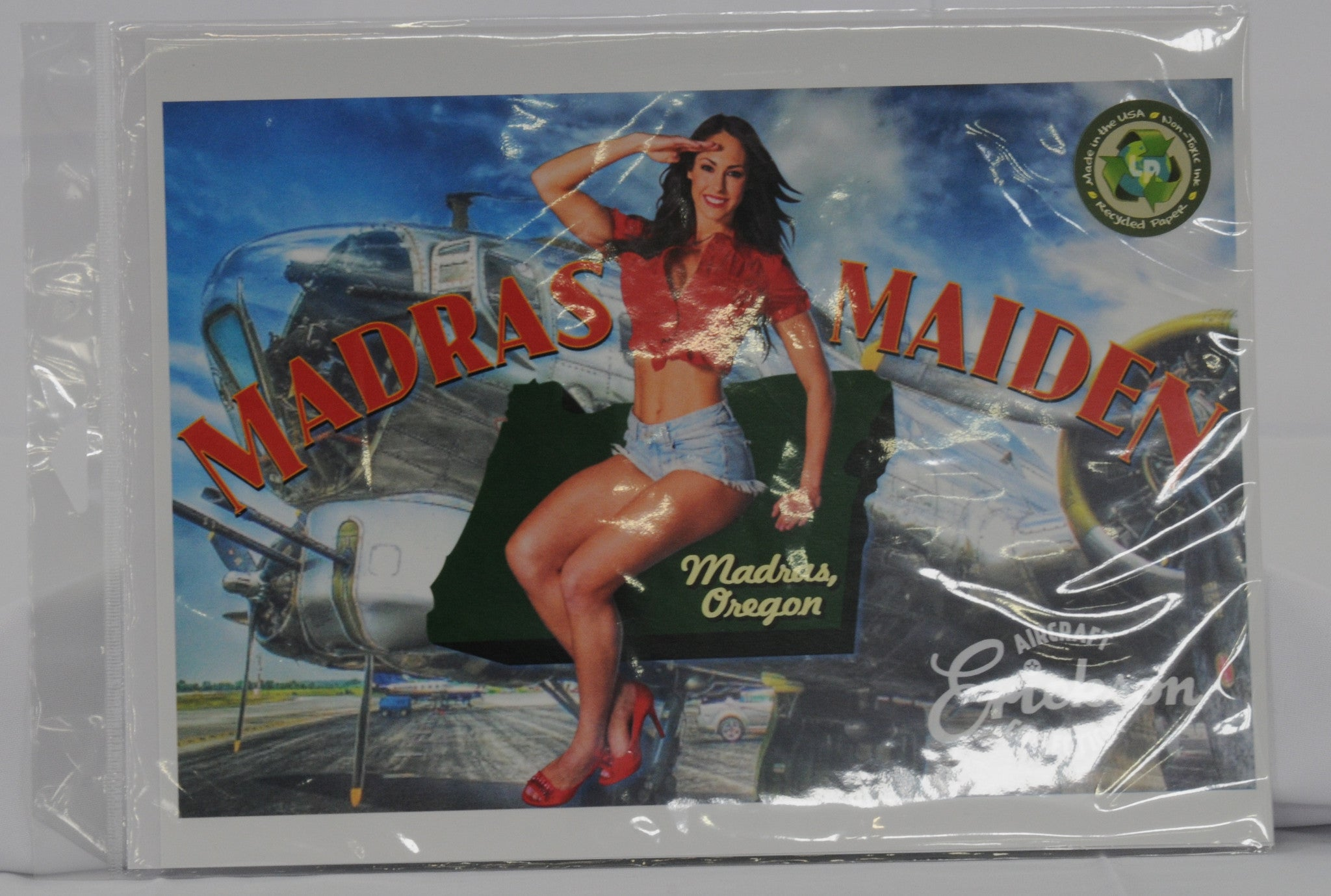 Madras Maiden 24x36 Poster Print