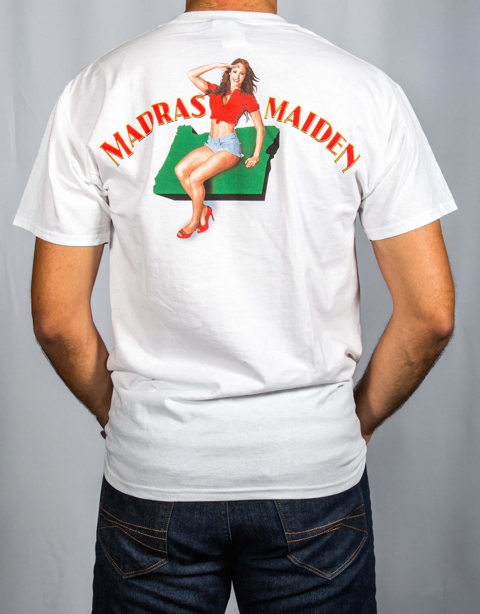 Madras Maiden T-Shirt