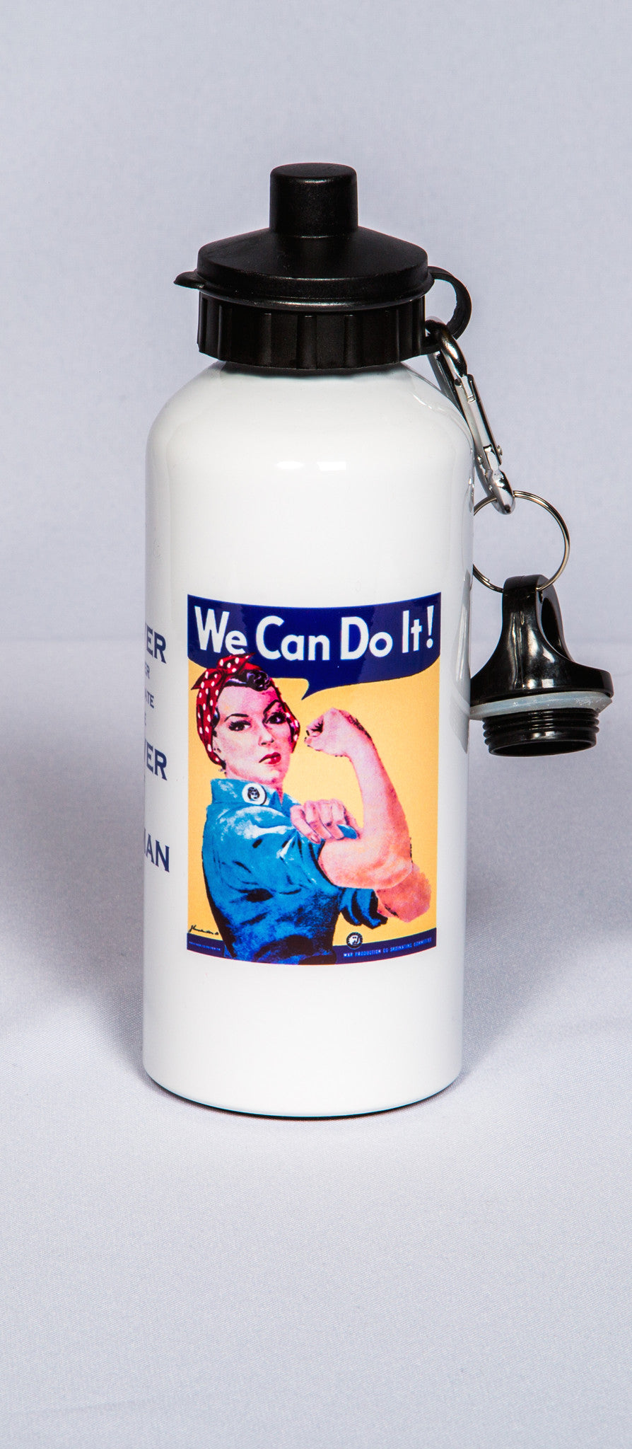 "Rosie ""We Can Do It"" Waterbottle"