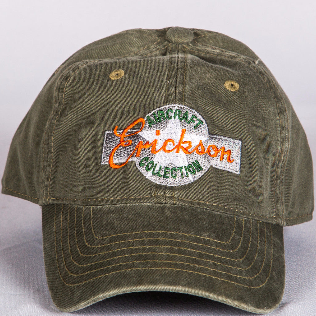 Military Green hat with EAC logo