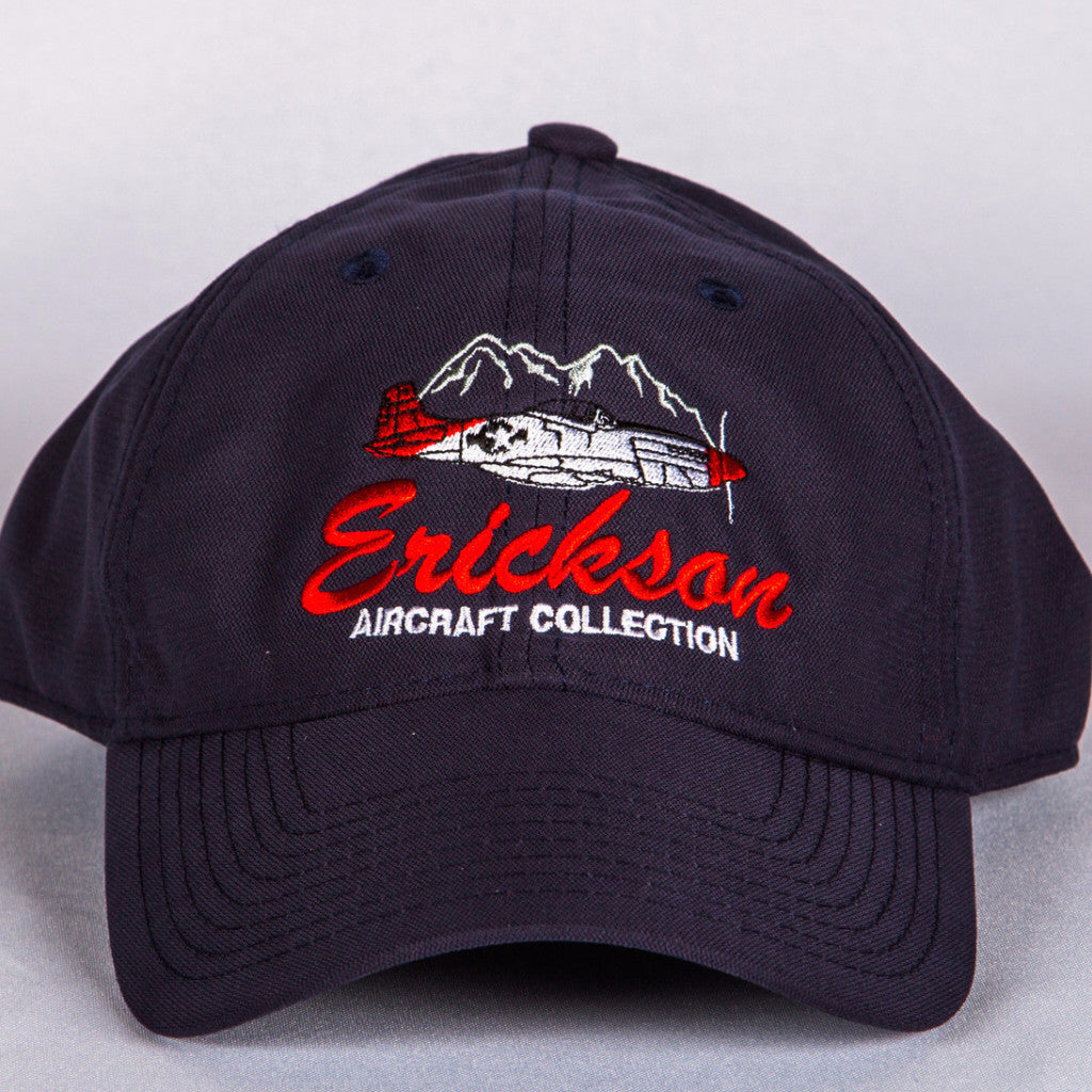 Erickson Aircraft Collection P-51 Mustang hat featuring Cascade Mountain range