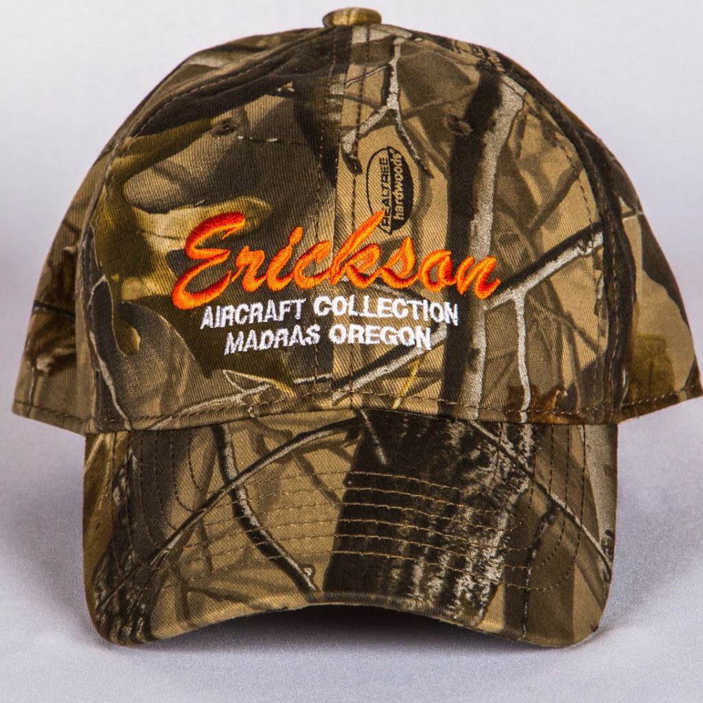 Erickson Aircraft Collection Woodsman Camo Hat