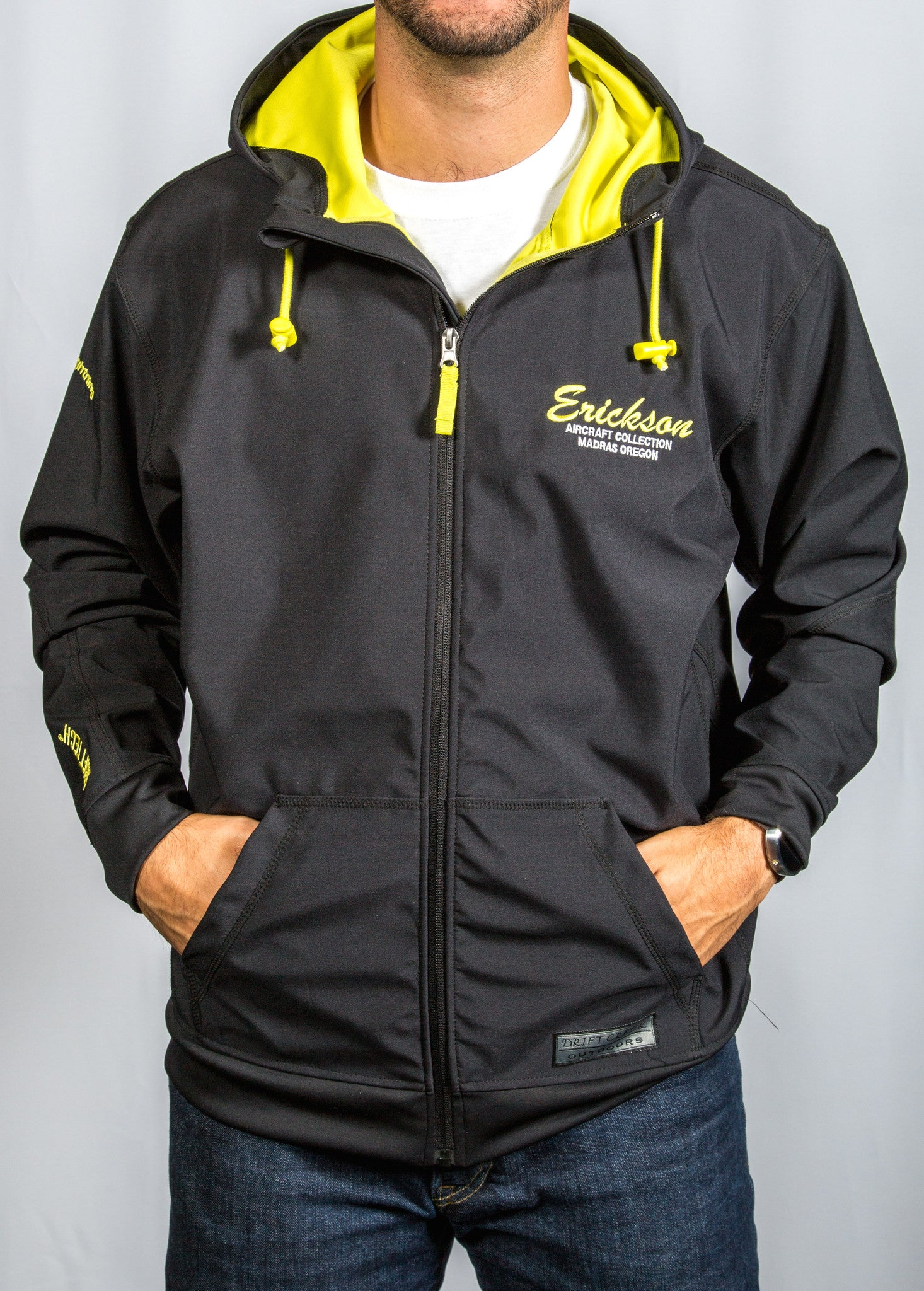 Zip Up Hoodie with EAC Logo