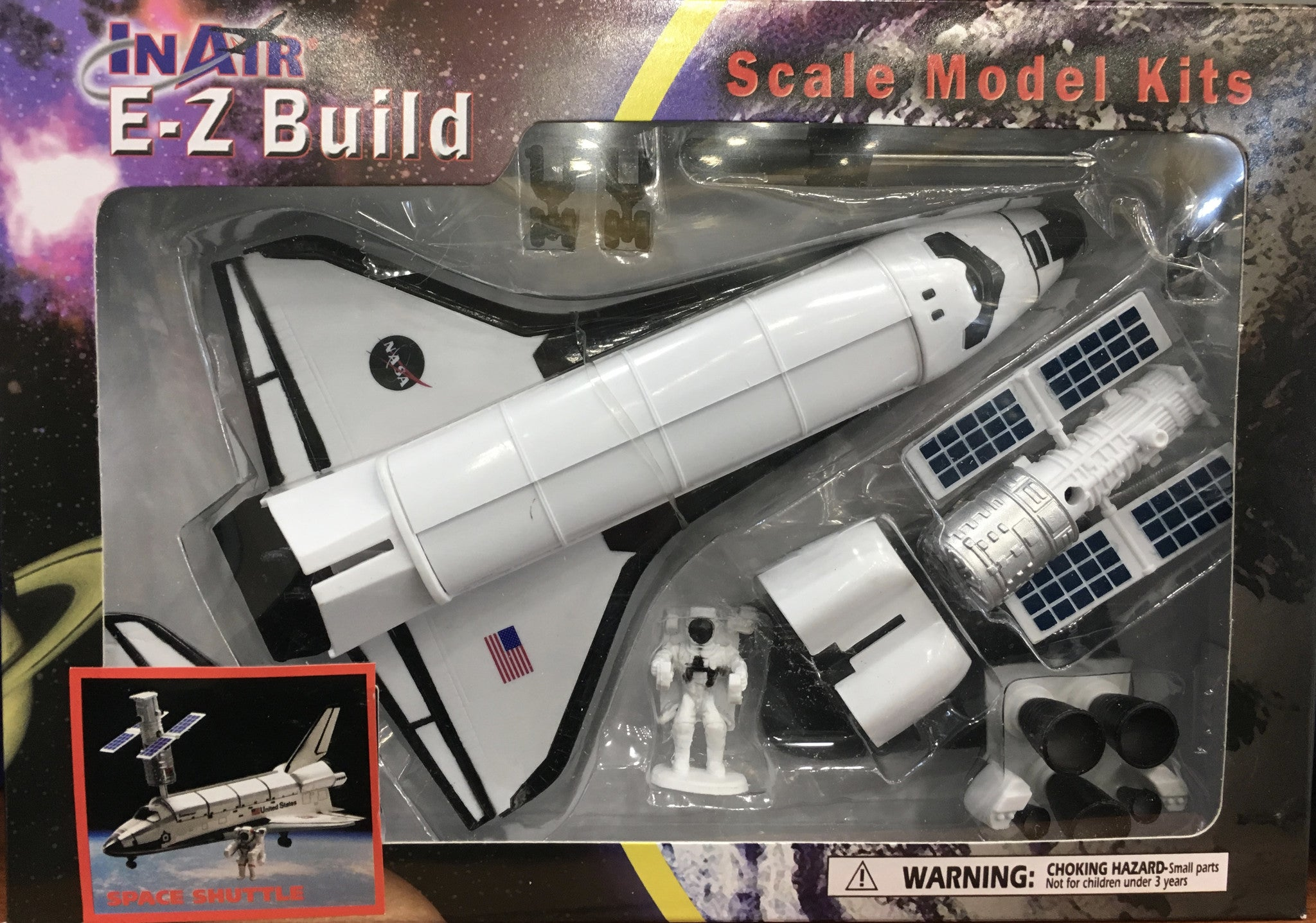 EZ Build Space Shuttle Model Kit/Assorted