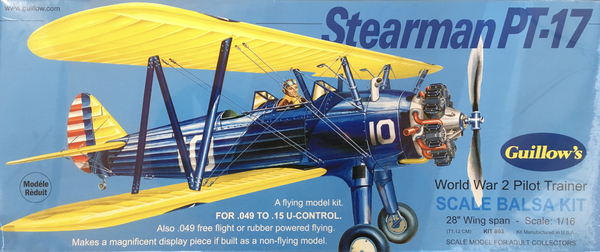 PT-17 Stearman Model Kit