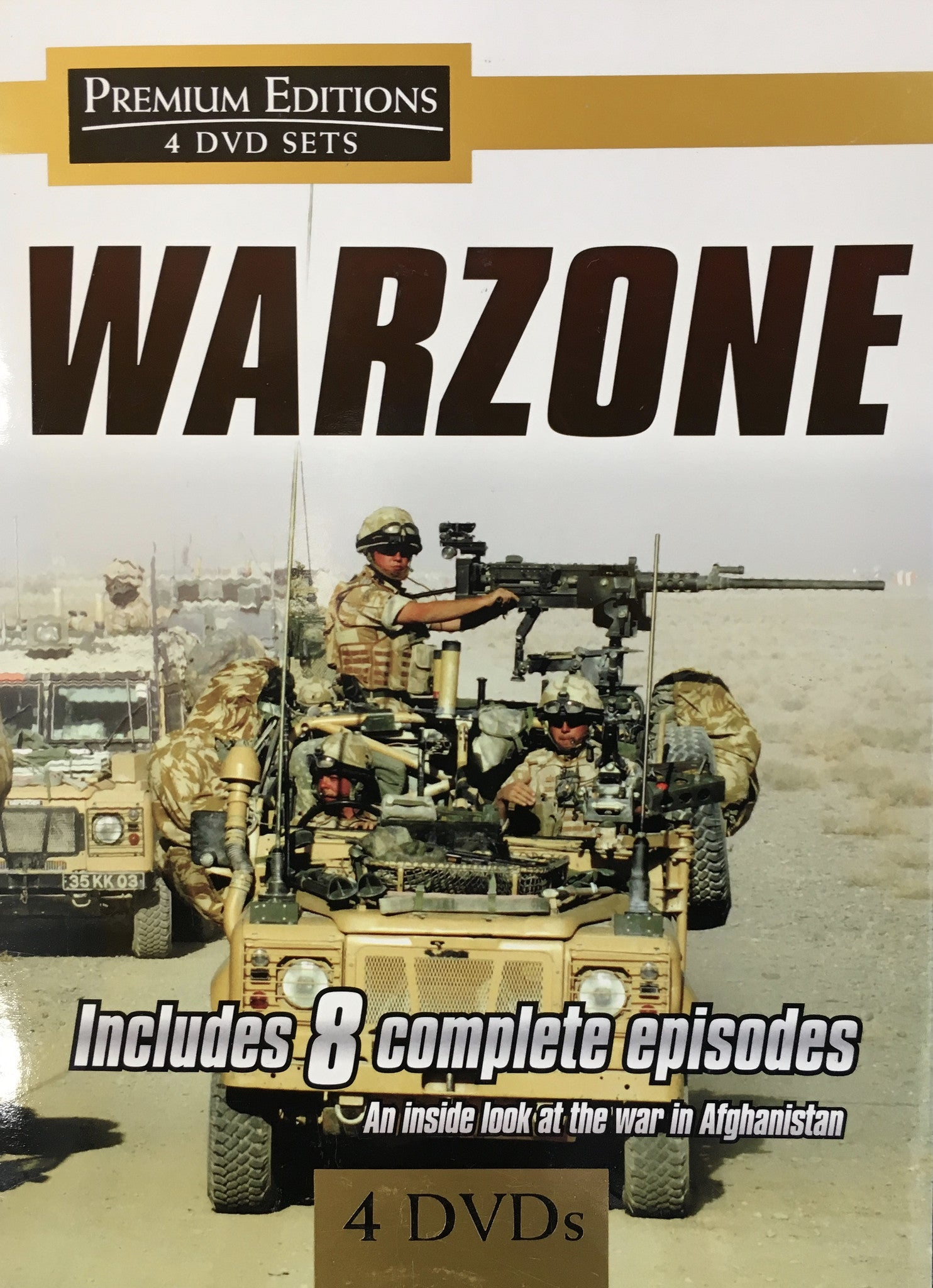 Warzone DVD