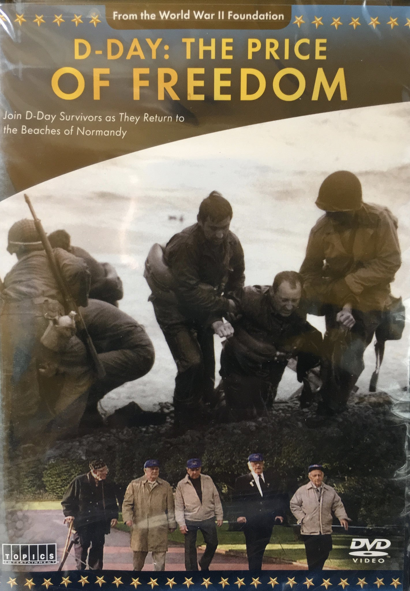D-DAY, The Price of Freedom DVD