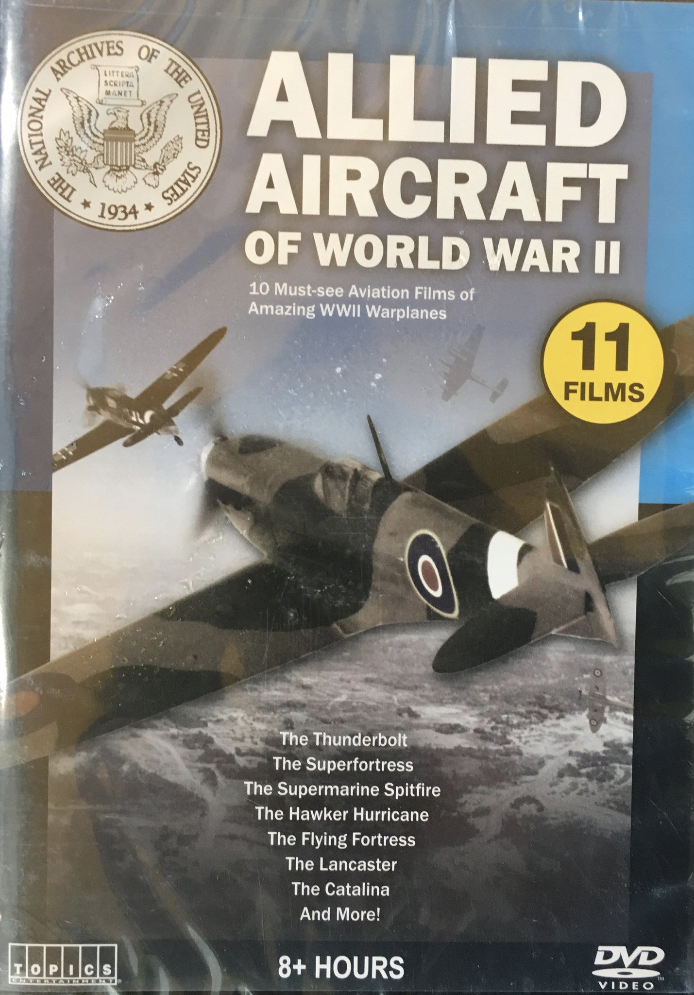 DVD,  Allied Aircraft of WWII