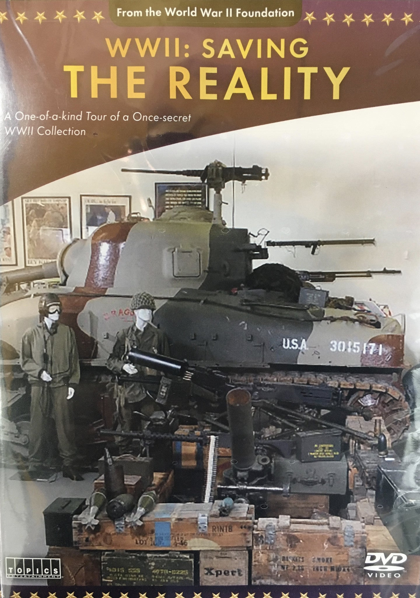 "DVD, WWII ""Saving the Reality:"