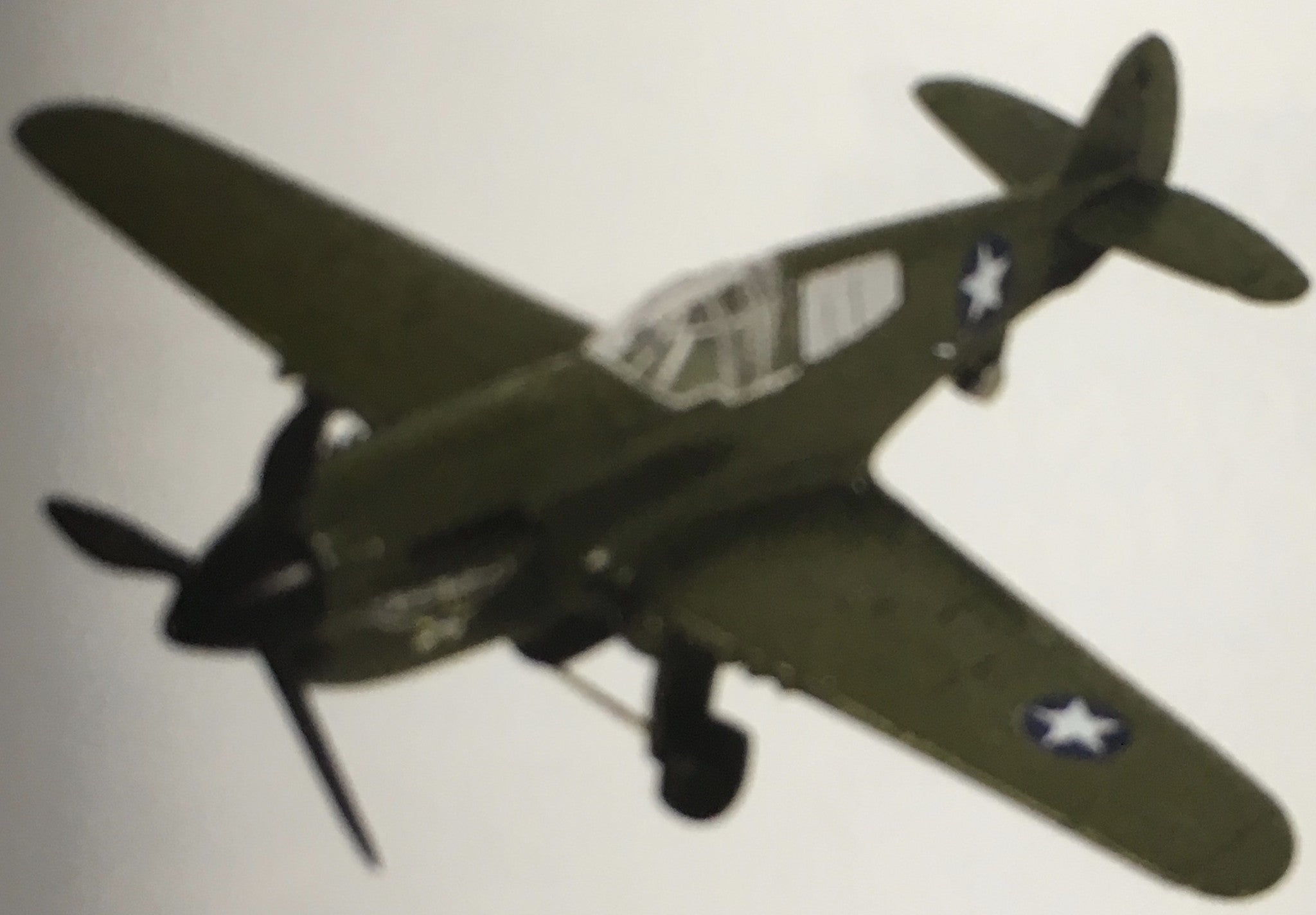 In Air P-40 War Hawk