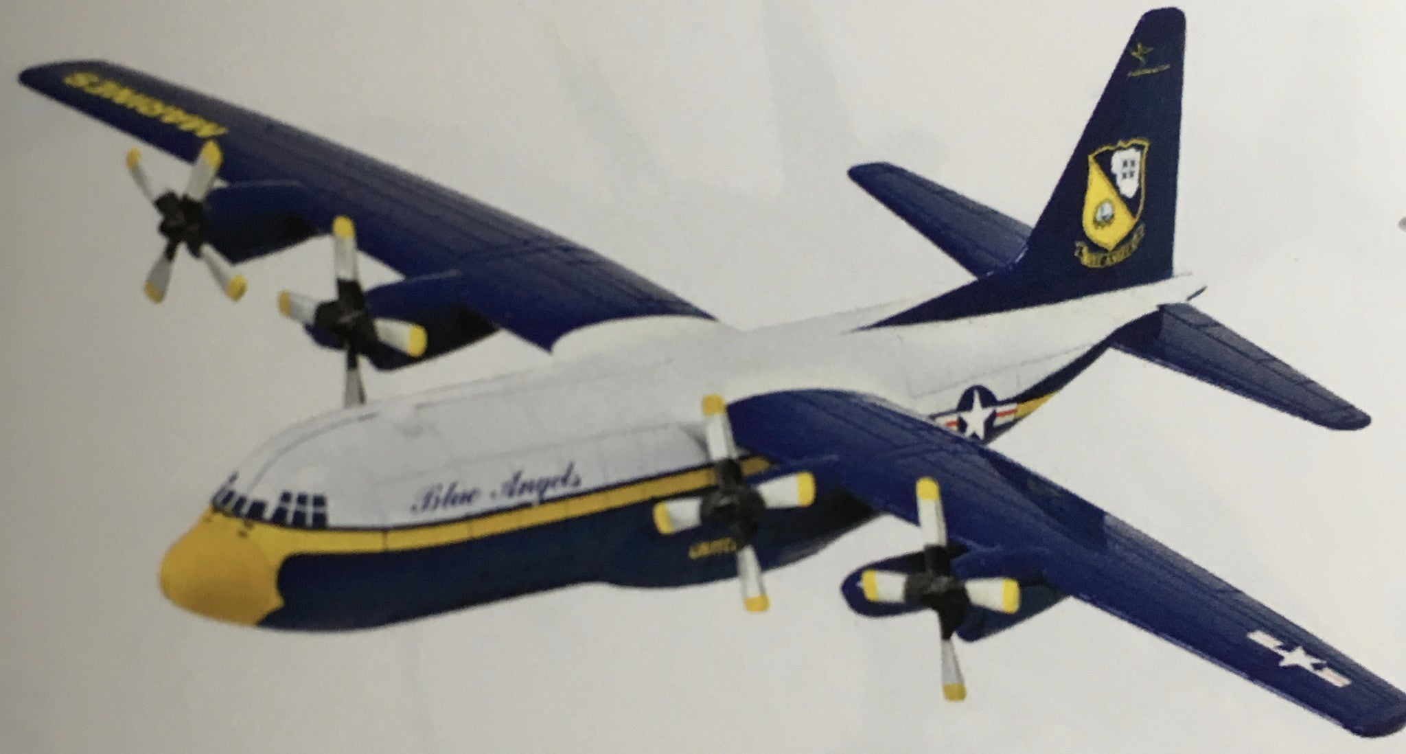 EZ Build C-130 Hercules Blue Angels