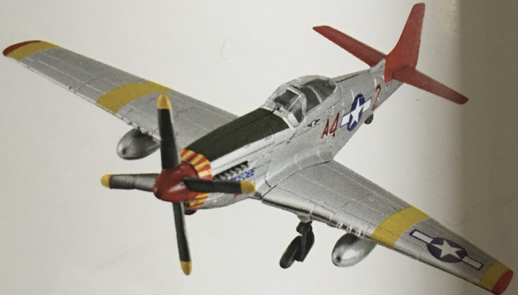 EZ Build Tuskegee Airman P-51