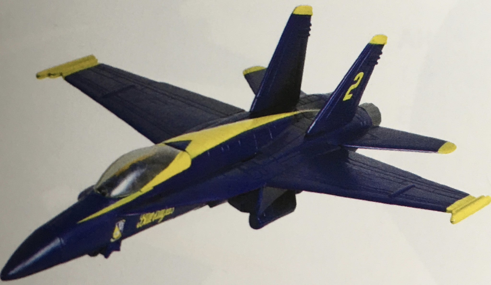 EZ Build F-18 Blue Angel Hornet