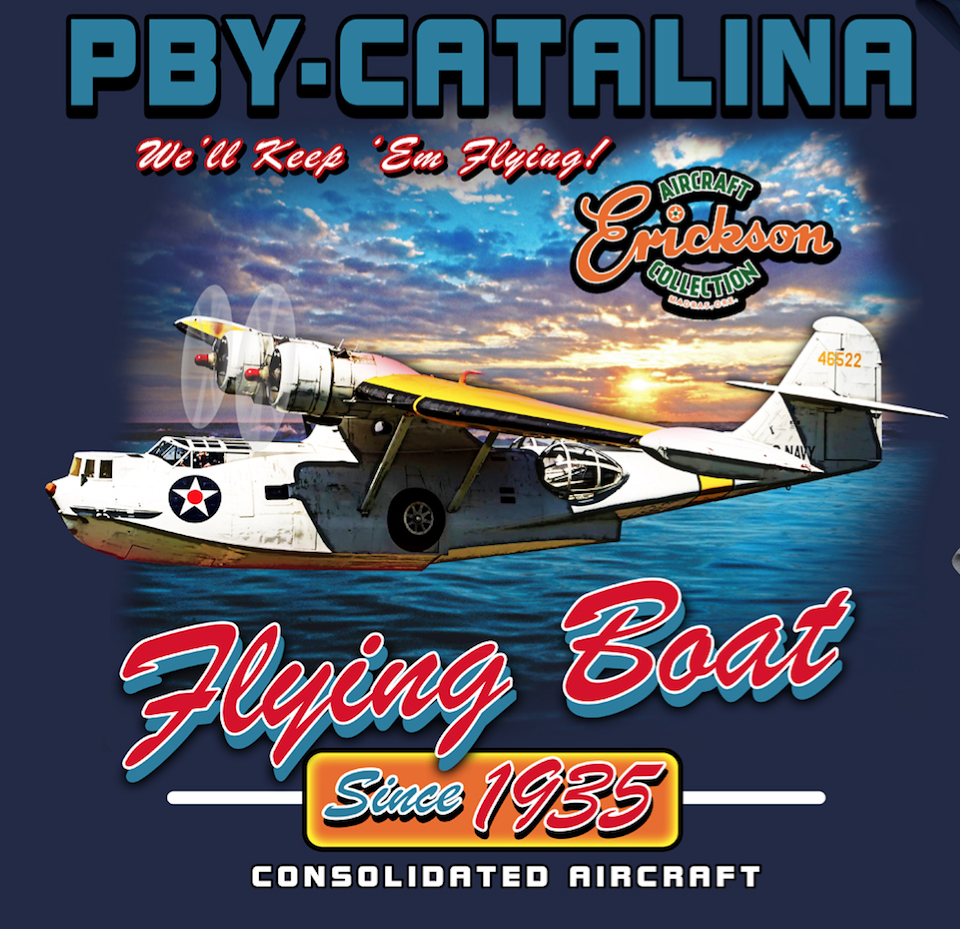 PBY Catalina Shirt We'll Keep Em Flying