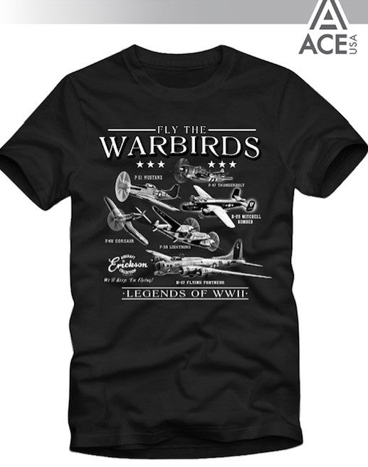 Warbirds T-Shirt Adult