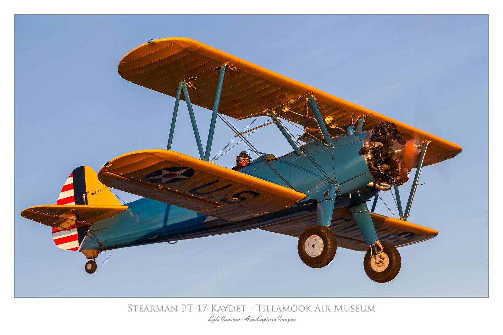 Stearman Under the Wing Poster
