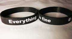 Marble Hornets charity wristband