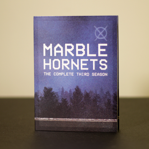 Marble Hornets Season 3 DVD (shipping early July)
