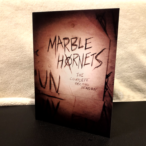 Marble Hornets Season 2 DVD (remastered)