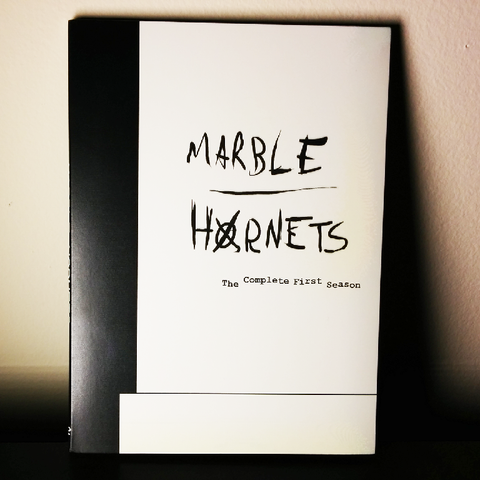 Marble Hornets Season 1 DVD (remastered)