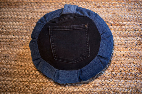 DENIM Peace Pocket Cushion (Kids) - FREE SHIPPING