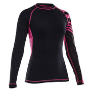 Salming Baselayer LS Tee Women - Black/Pink