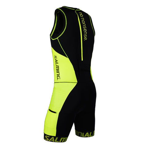 Salming Triathlon Suit Men - Black/Yellow
