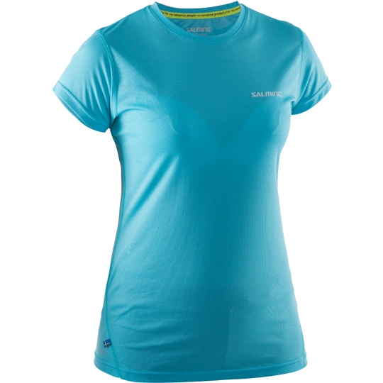 Salming Running Tee Women- Turquoise
