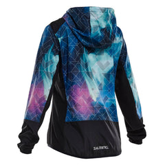 Salming Fusion Jacket Women - Northern Lights Print