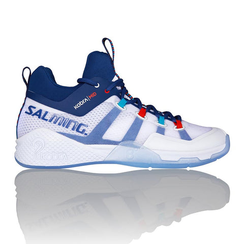 Salming Kobra Mid 2 - White/Blue
