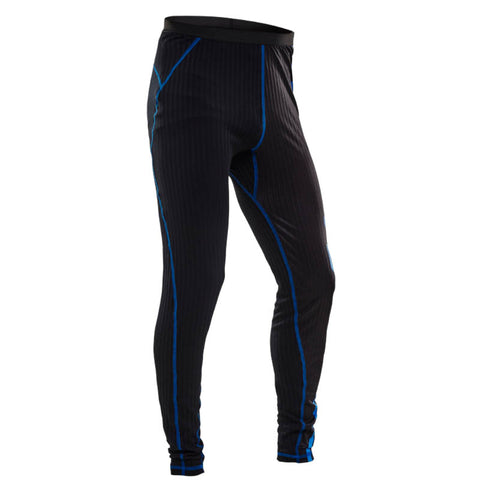Salming Baselayer Pant Men - Black/Electric Blue