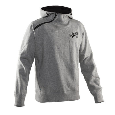 Salming Solid Hood Men - Grey Melange