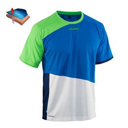 Salming Active Tee JR - Lizard/Royal Blue