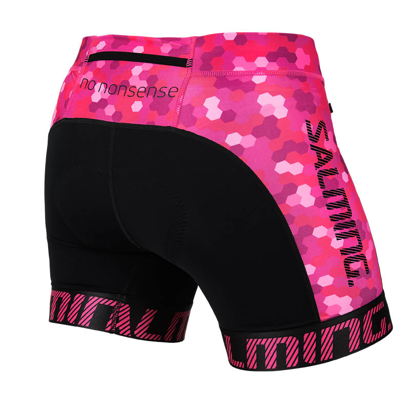 Salming Triathlon Shorts Women - Black/Pink