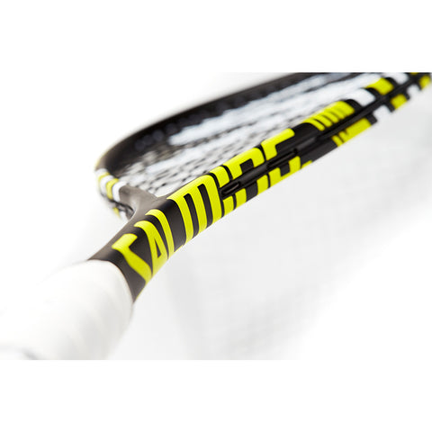 Image of Salming Forza Racket - Black/Yellow