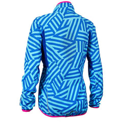 Salming Ultralite Jacket 2.0 Women - Light Blue Printed