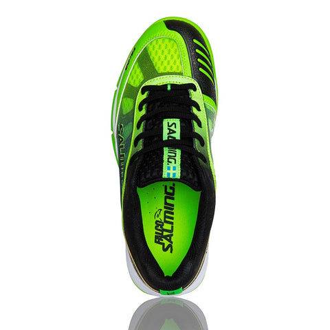 Image of Salming Falco Junior - Green/Black