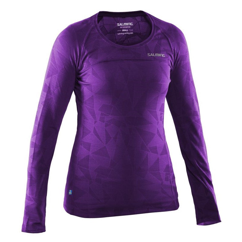 Run LS Top Women - Purple