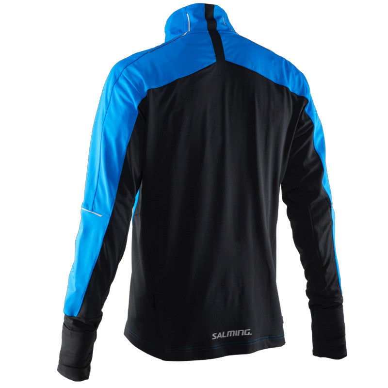 Salming Thermal Wind Jacket Men - Electric Blue/Black