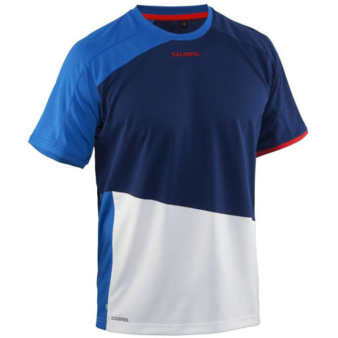 Salming Active Tee - Royal Blue/Deep Blue